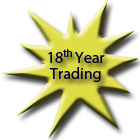 Celebrating our 18th year of trading success