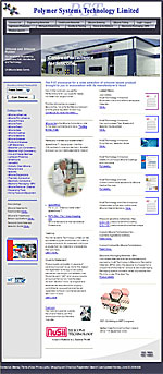 Polymer System Technology Limited - Main web site